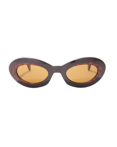Eye To Eye Oval Sunglasses