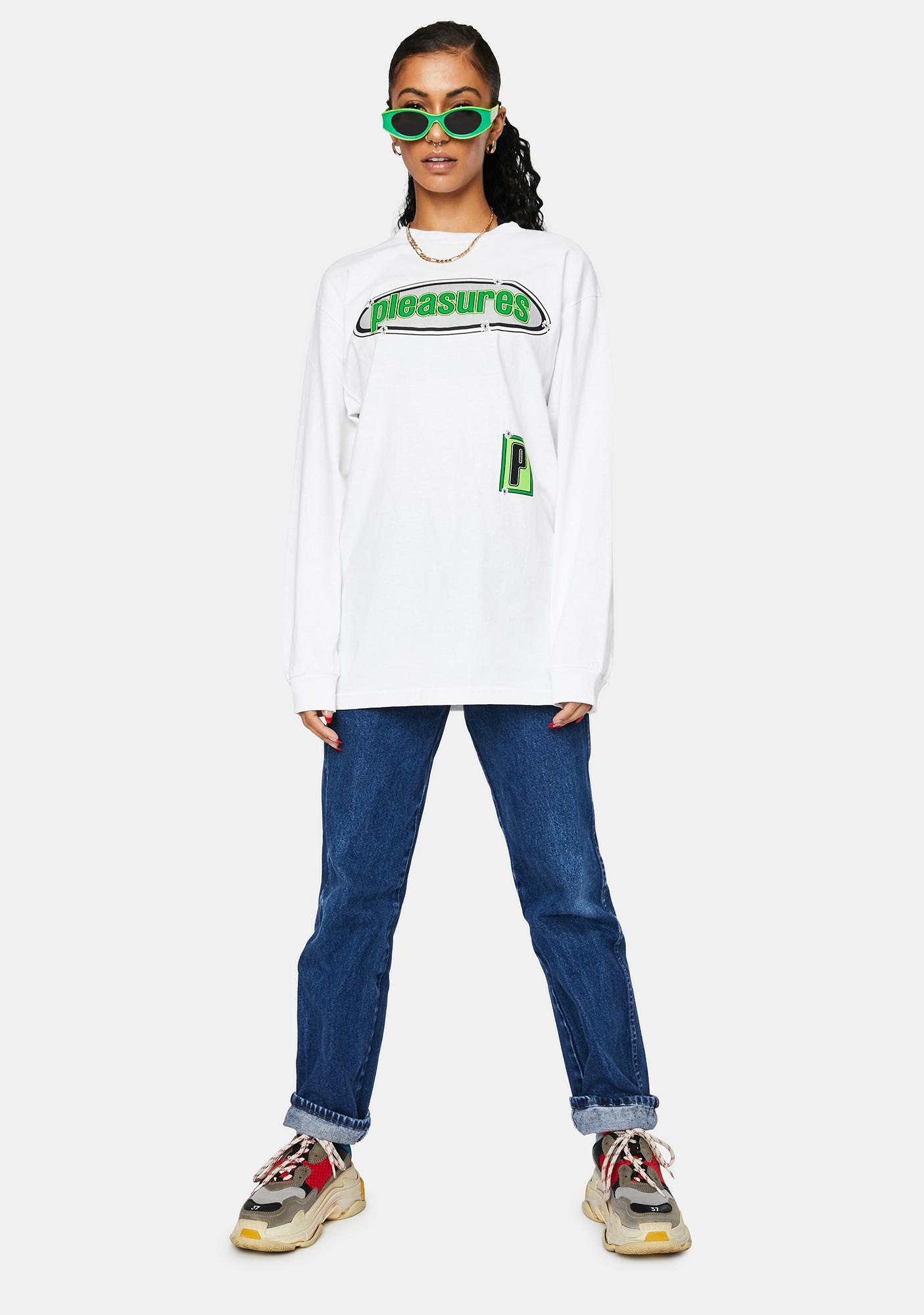 Pleasures Eazy Long Sleeve Tee