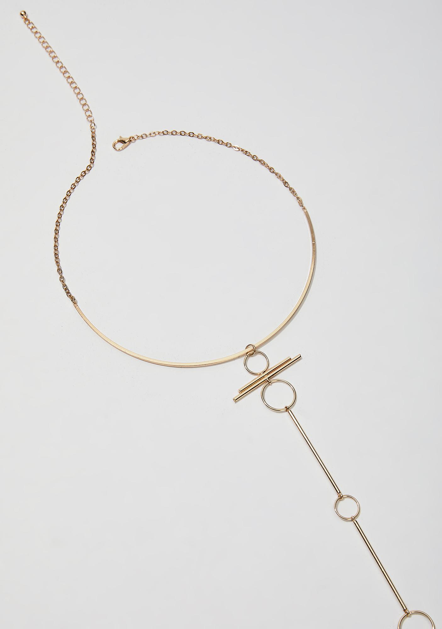 Sun Blissed Circle Body Chain