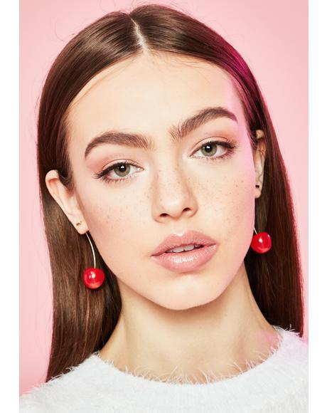 Mon Cherry Drop Earrings