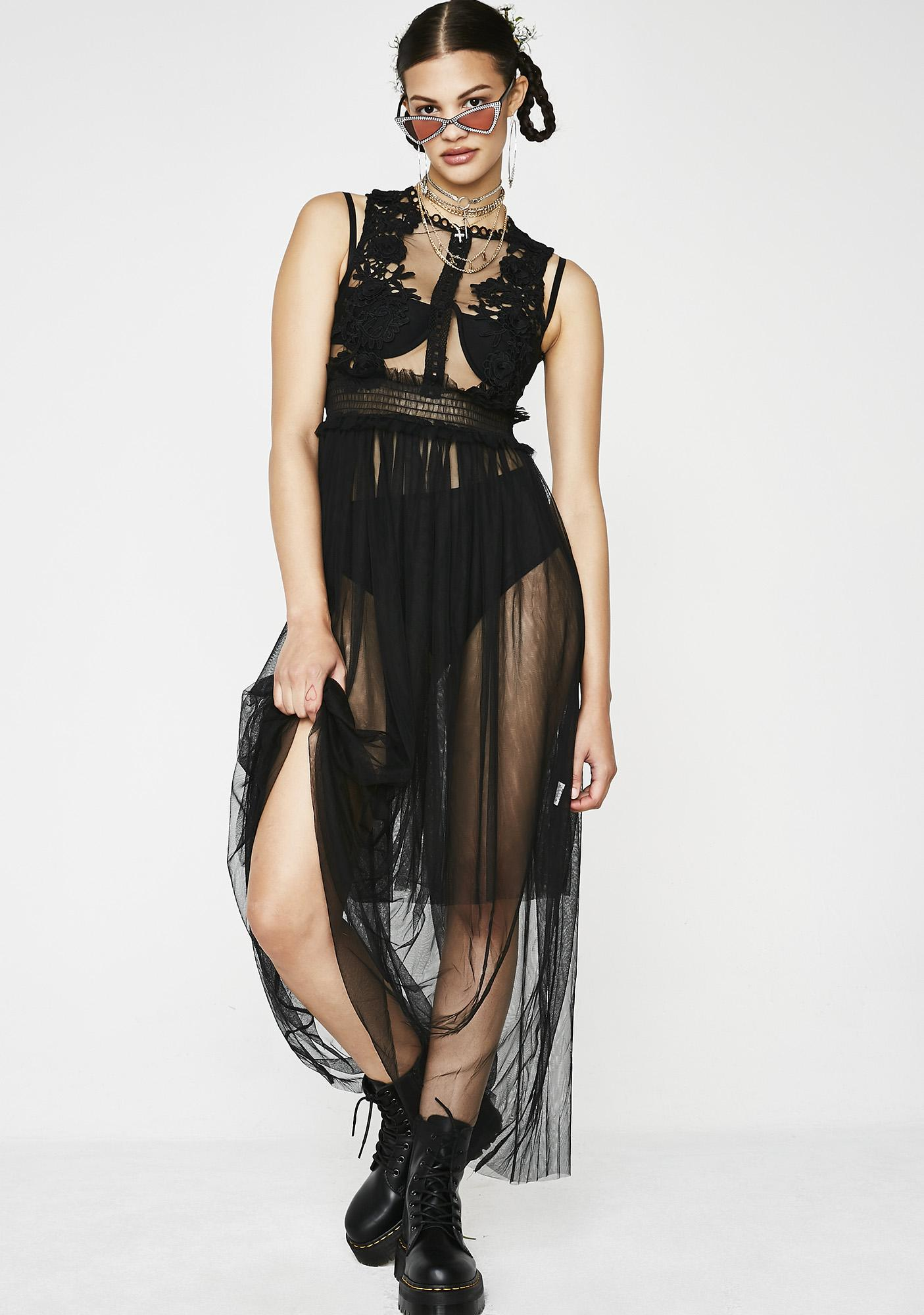 Dead To Me Maxi Dress