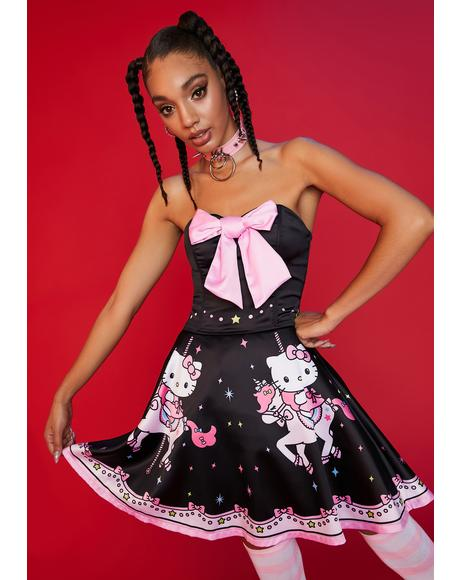 Spin Me Round Mini Dress