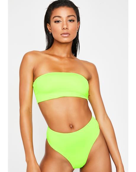 Nuclear Babe Land Bikini Set