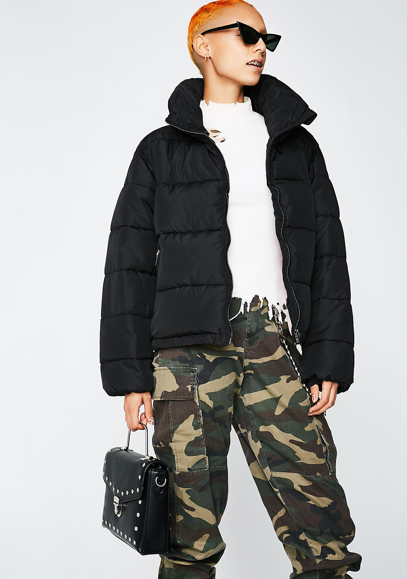 Glamorous Hood Dreams Puff Jacket