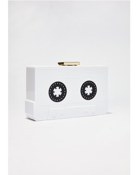Play My Tunes Cassette Clutch