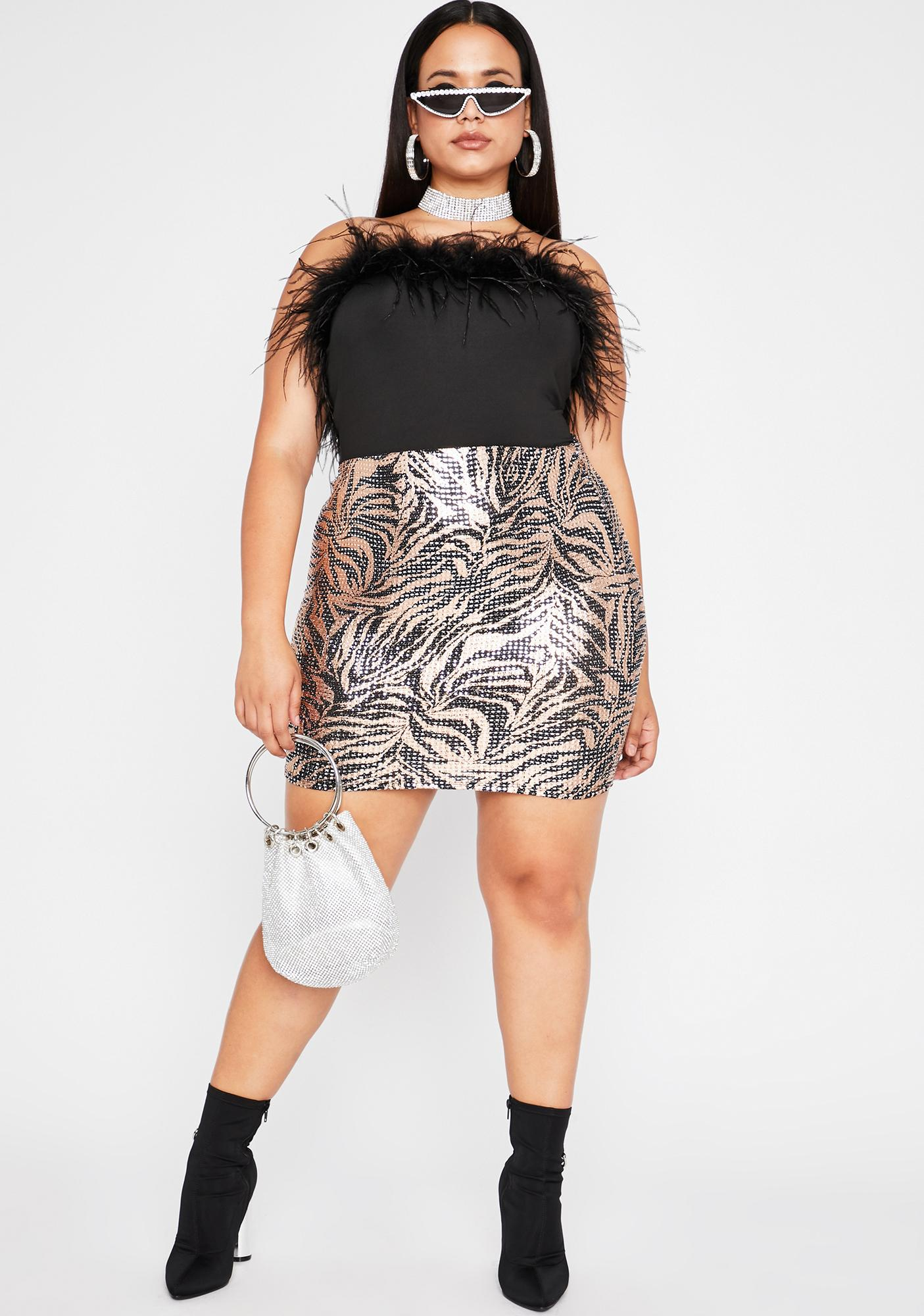 Feline Feelz Mini Skirt