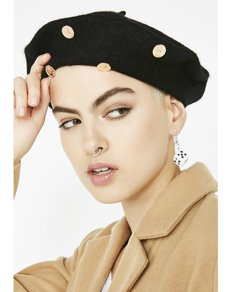 Take Ya Money Coin Beret