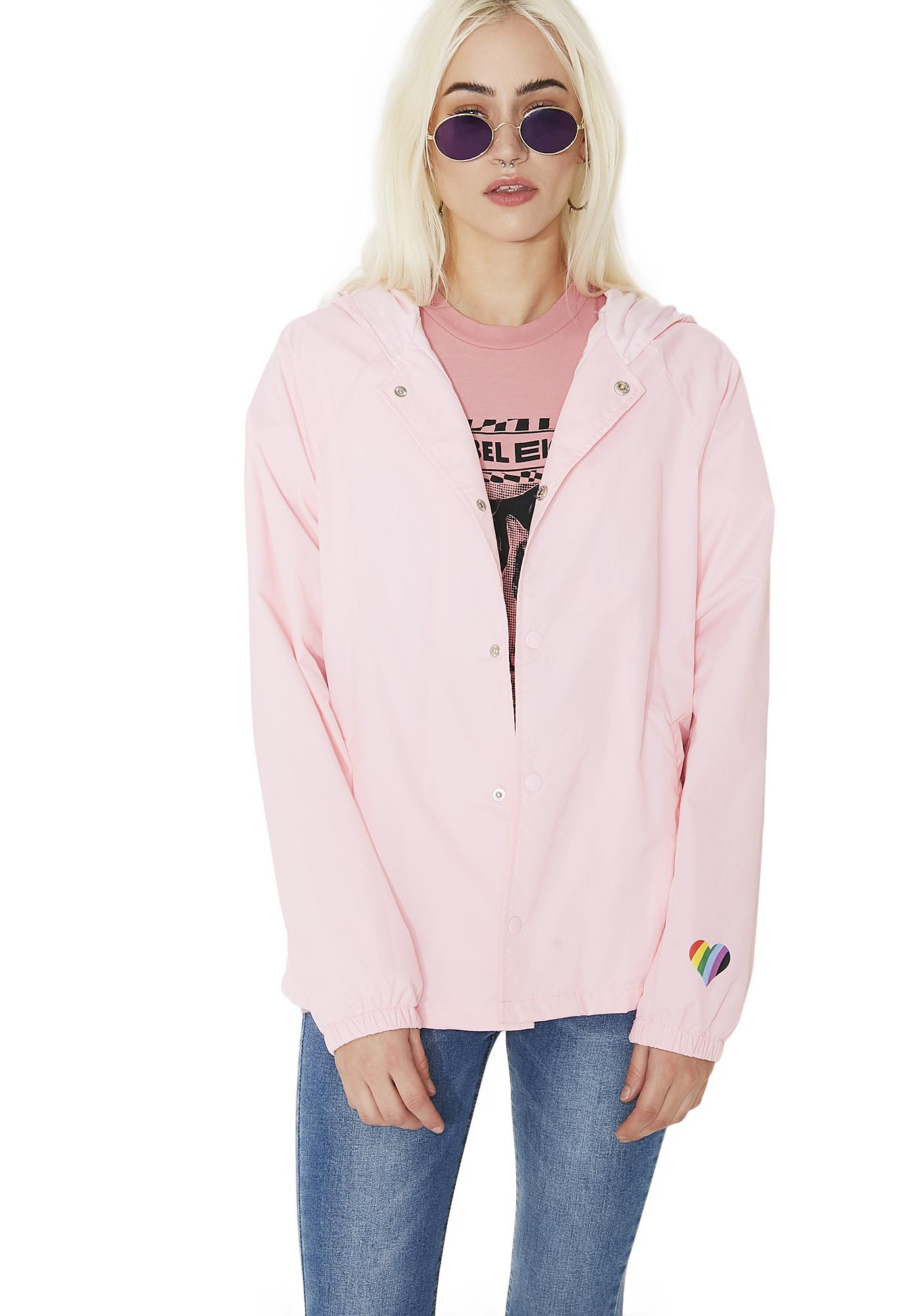 Love Is Love Is Love Windbreaker