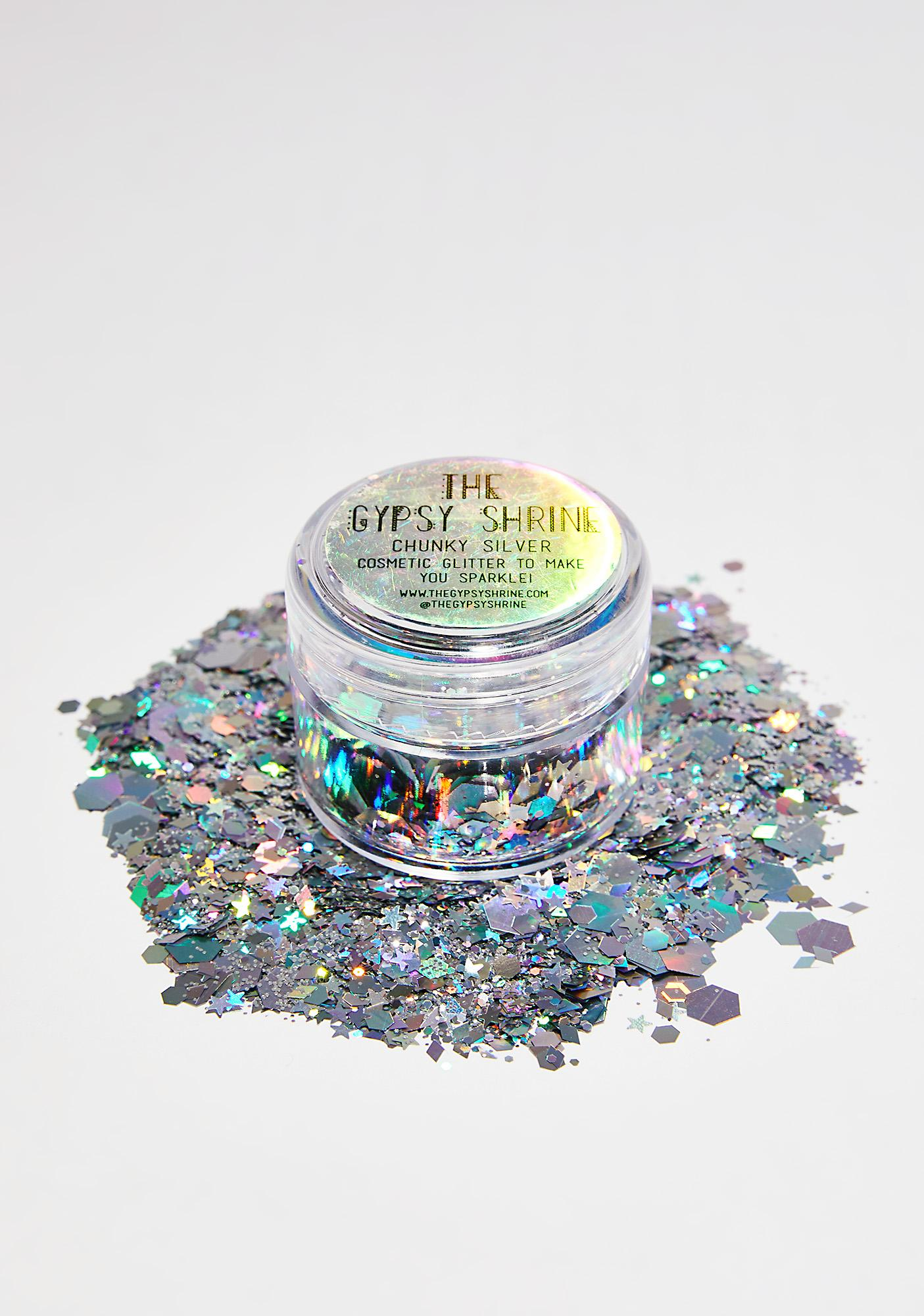 The Gypsy Shrine Chunky Silver Glitter