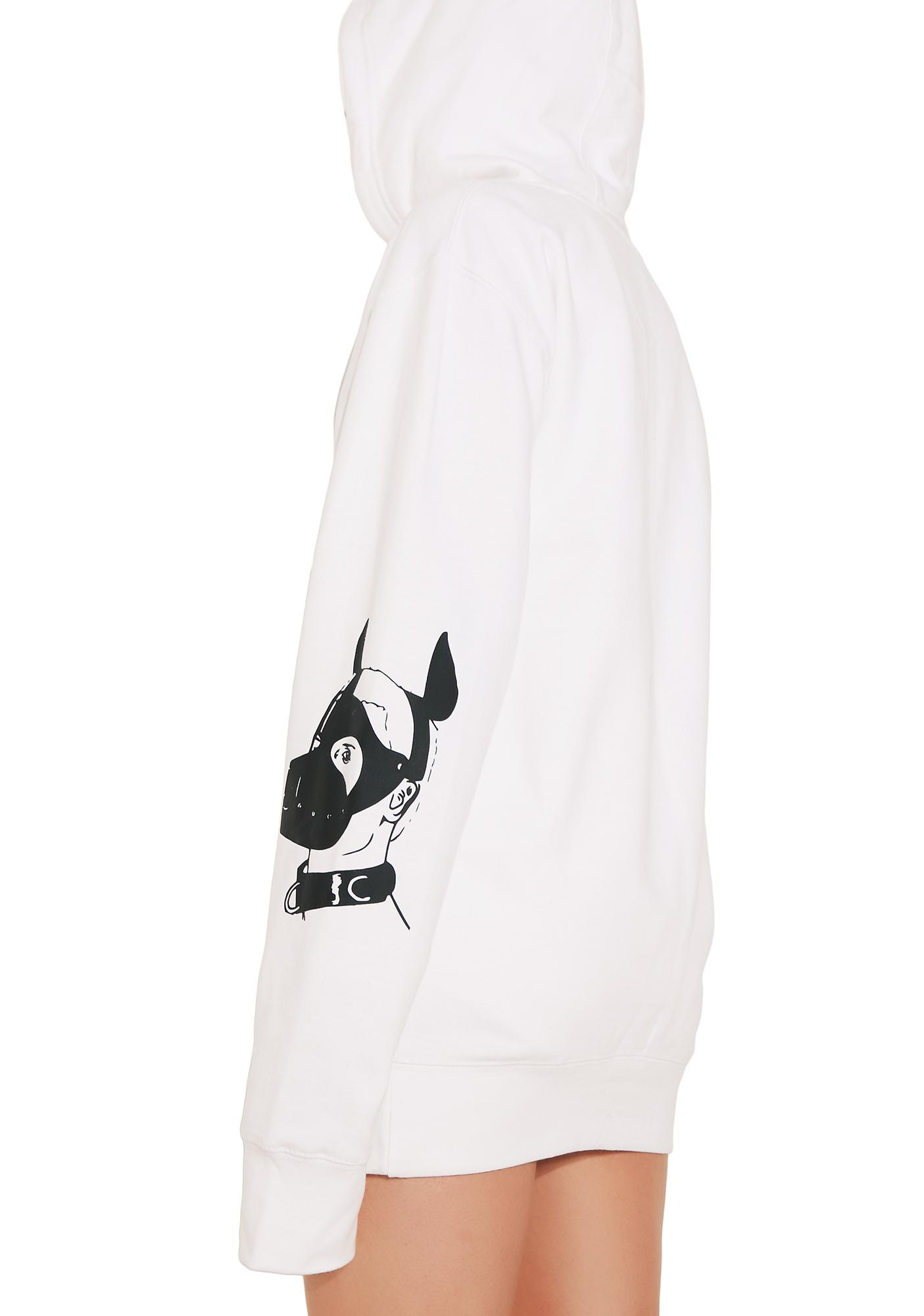 Leather Papi Leather Puppy Hoodie