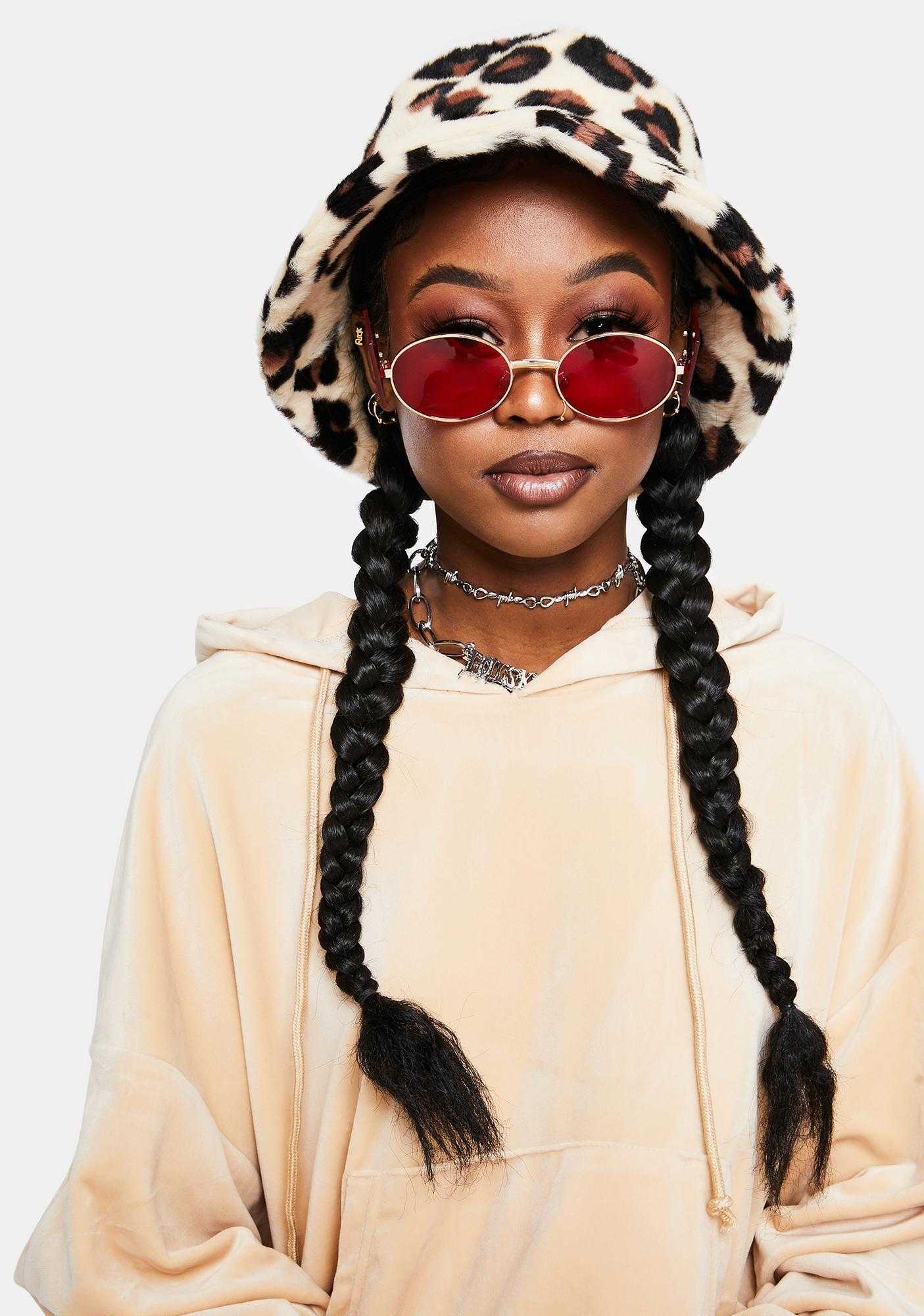 Ruby Always An Icon Circle Sunglasses