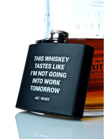 Whiskey Wildin' Flask