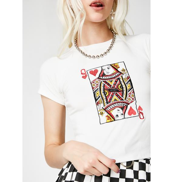 O Mighty Queen Of Hearts Tee