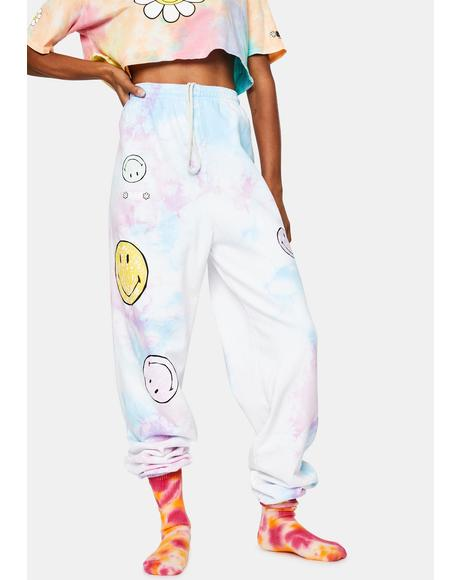 Good for You Tie Dye Sweatpants