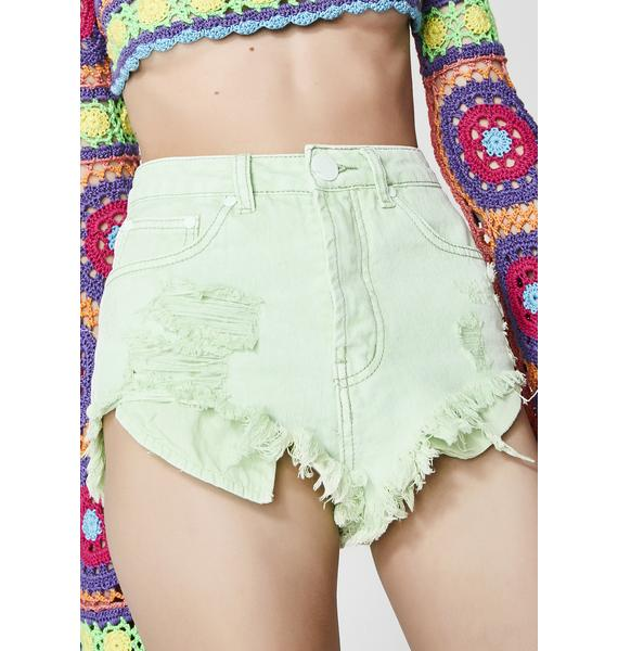 Refreshingly Cool Distressed Shorts