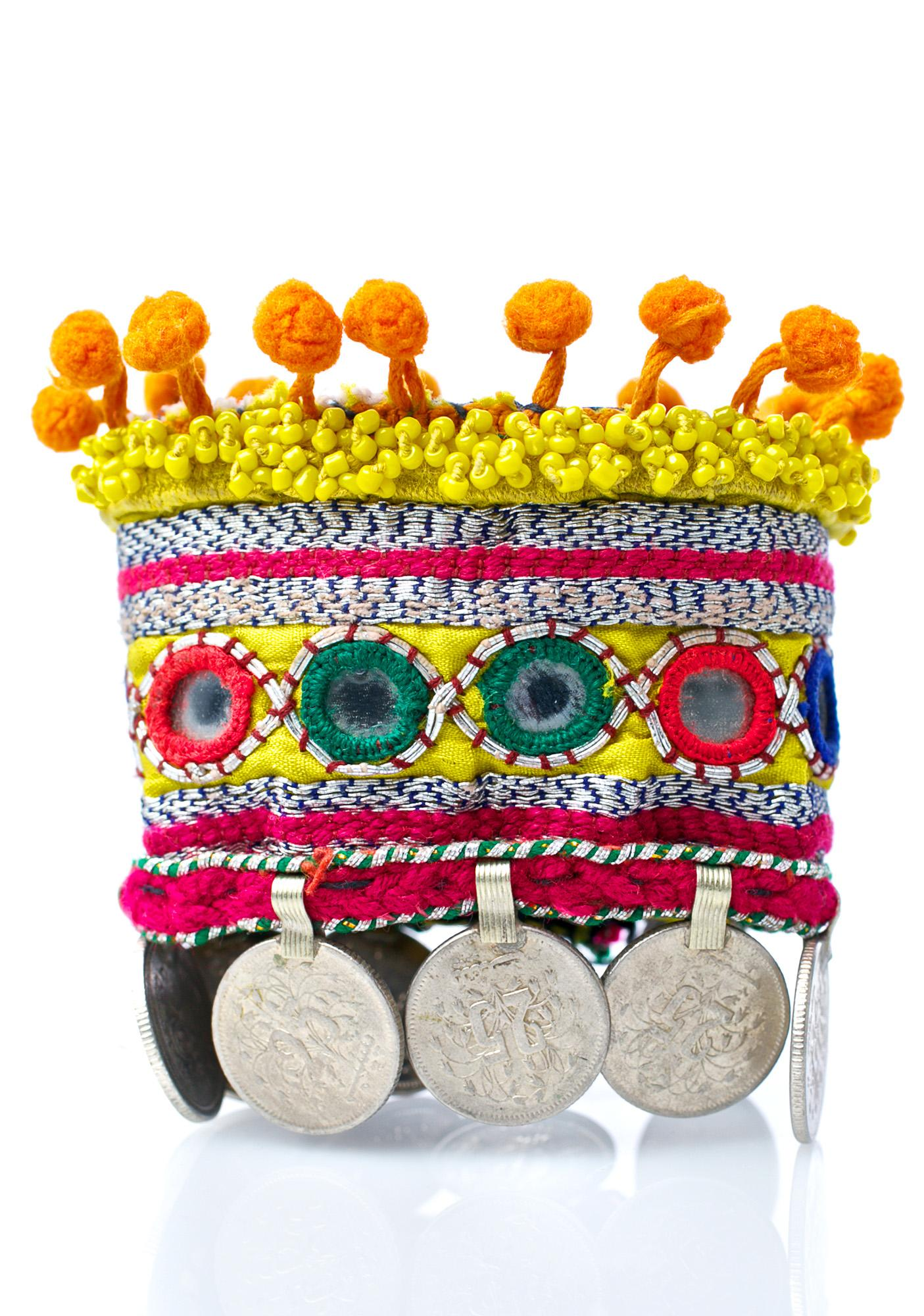 Rock n Rose Liana Embroidered Coin Cuffs