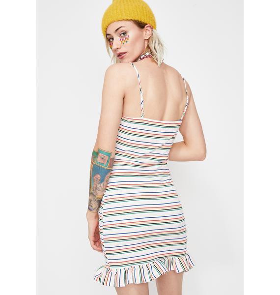 Lookin' Like A Snack Mini Dress