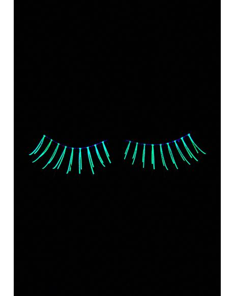 Laser Lines Glow In The Dark Eyelashes