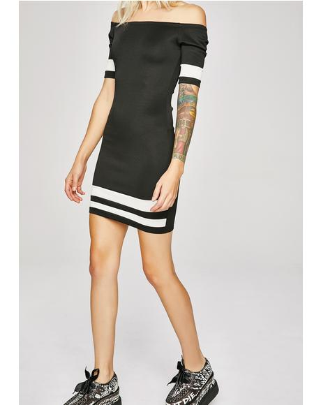 Stare Down Mini Dress