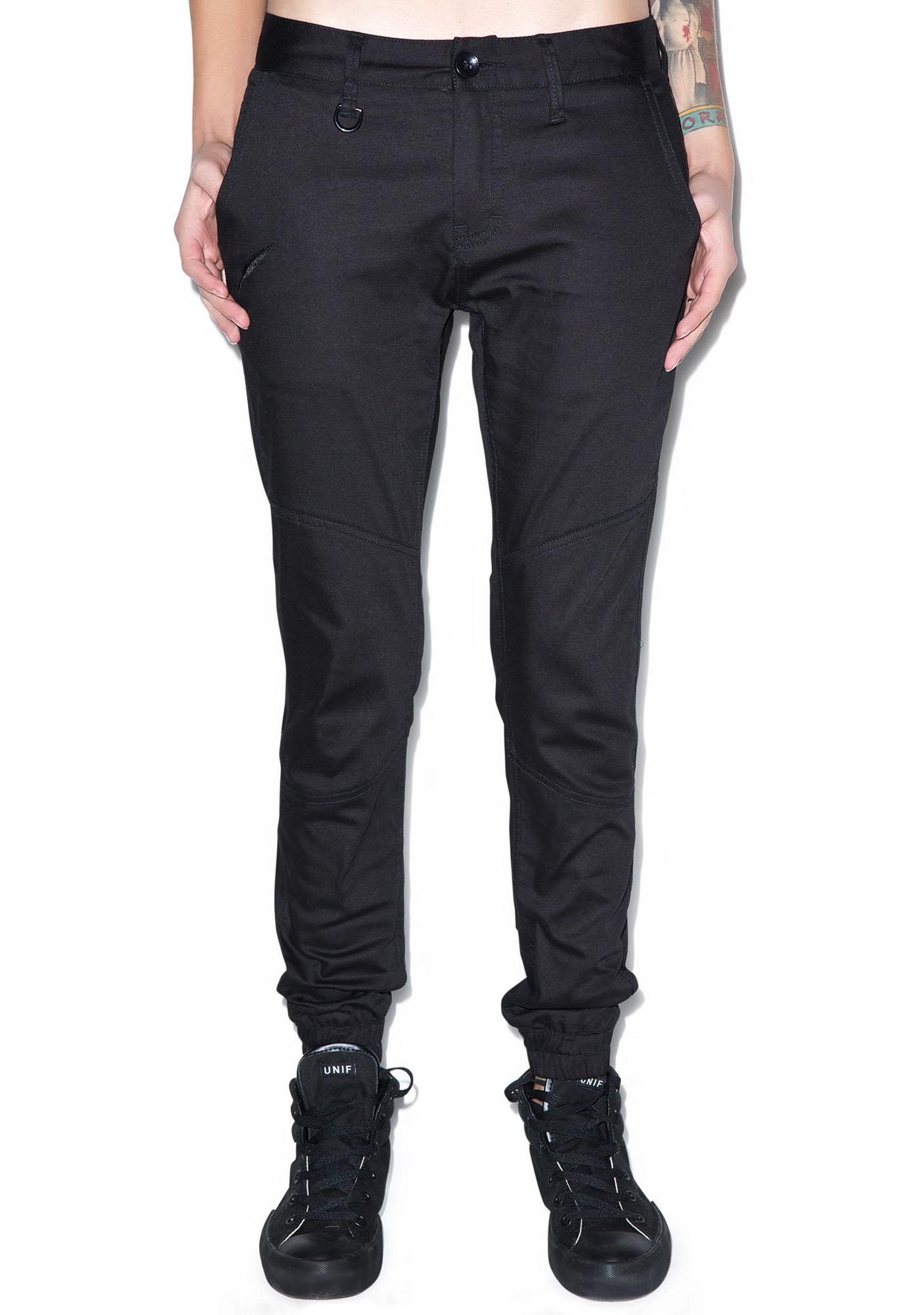 Publish Lexie Signature Over Dyed Twill Jogger Pants