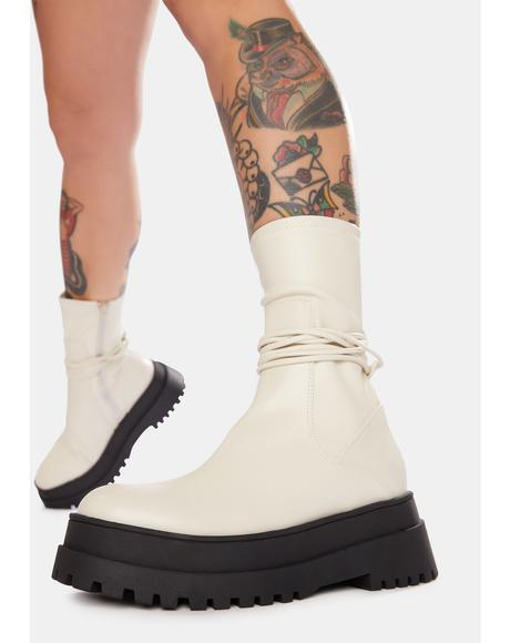 Finale Chunky Wrap Ankle Boots