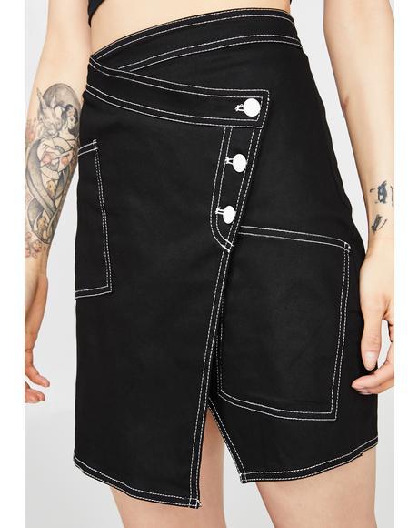 Revolution Mood Wrap Skirt