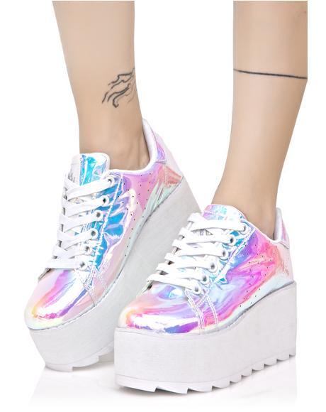 Lala Atlantis Platform Sneakers