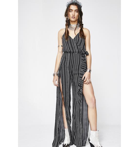 Walk The Walk Tie Jumpsuit