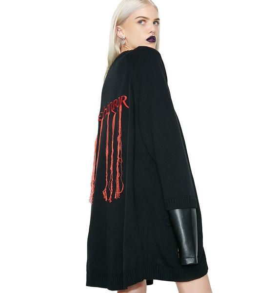 Disturbia The Horror Cardigan