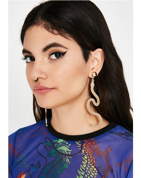 Fatal Bite Earrings