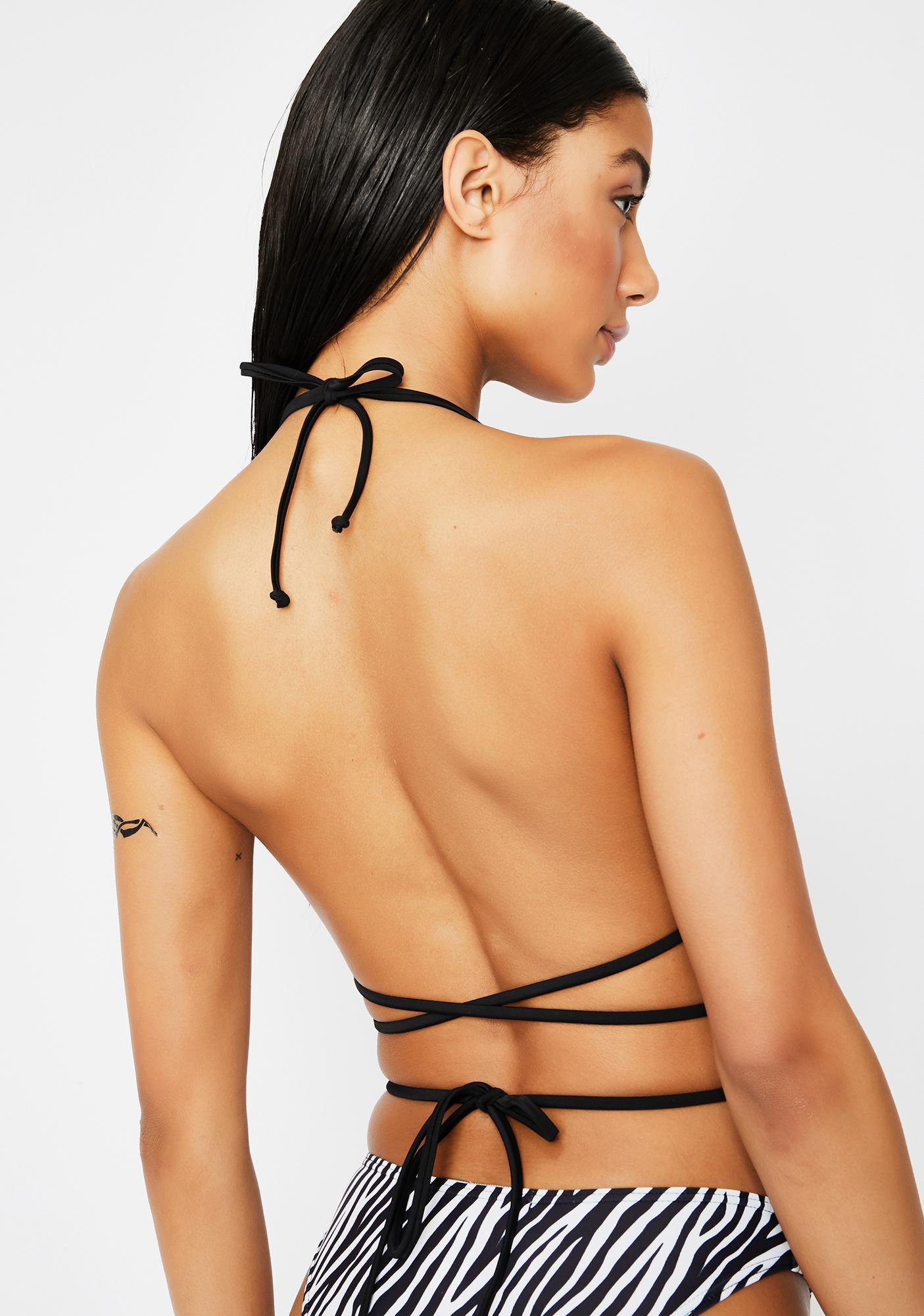 Current Mood Wild Woman Bikini Top