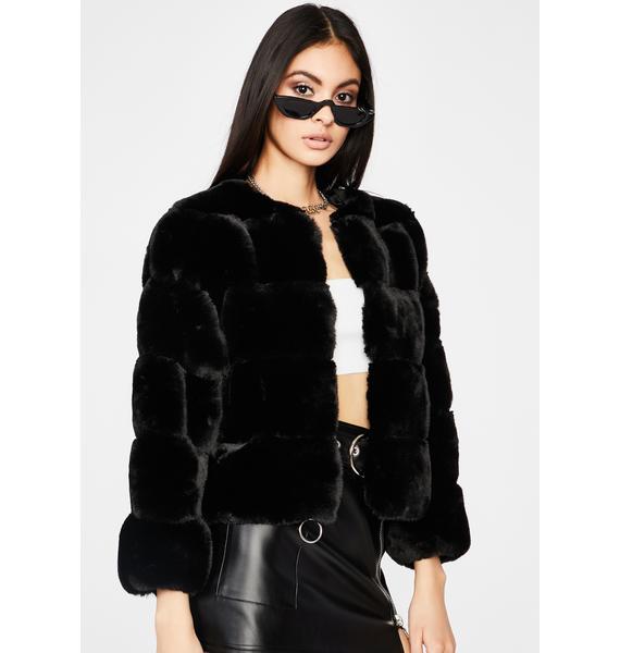 Forever Ur Bae Faux Fur Jacket