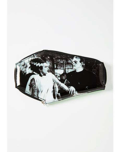Together Forever Glitter Coffin Wallet