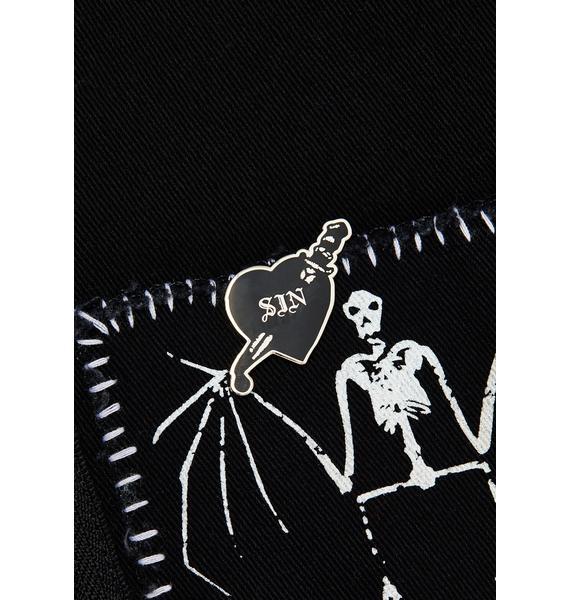 Mysticum Luna Sin Pin Badge