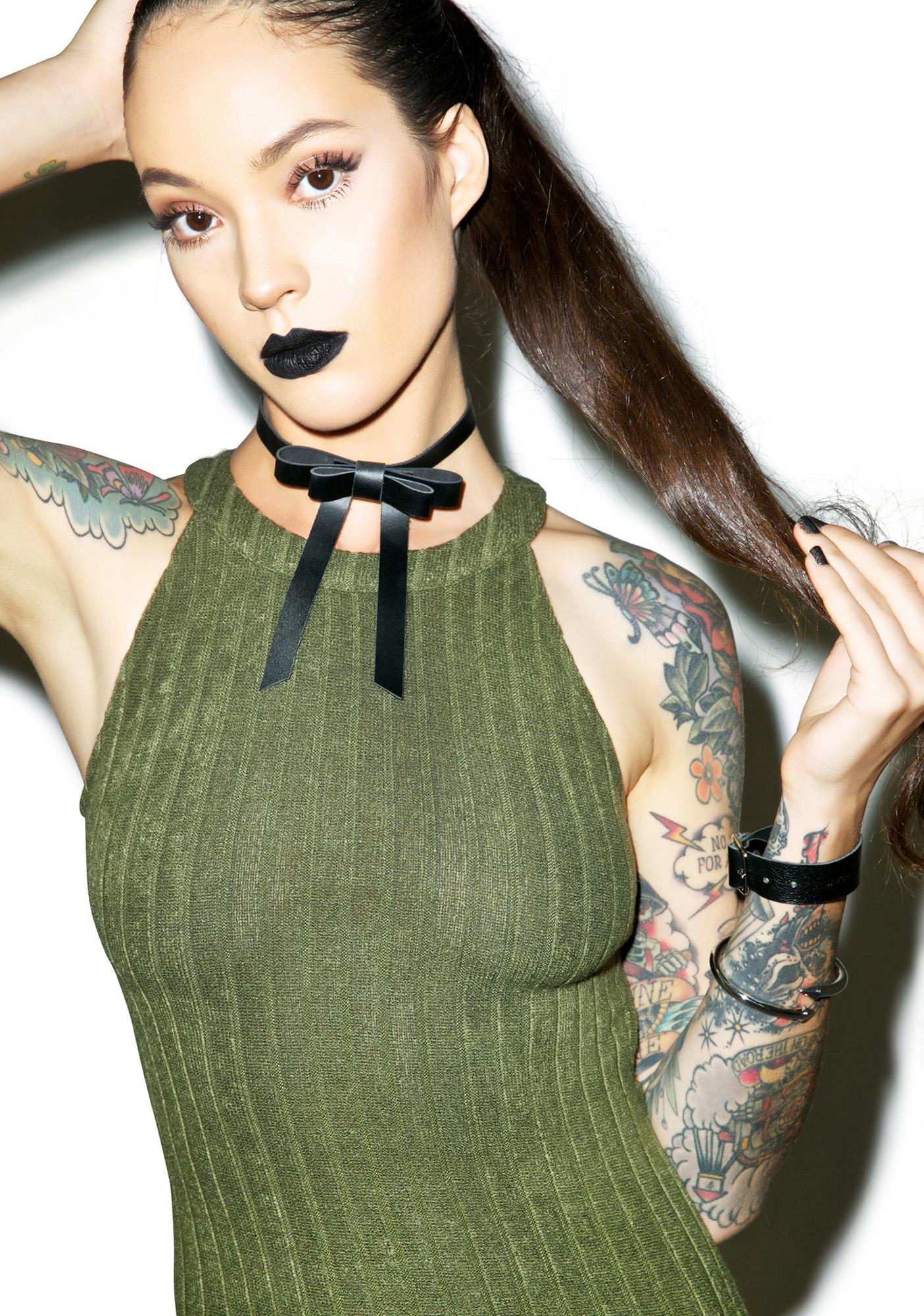 Mean Green Midi Dress