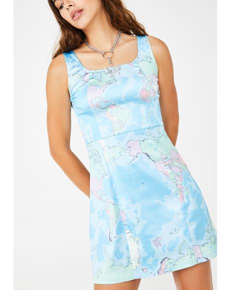 Jet Setter Mini Dress