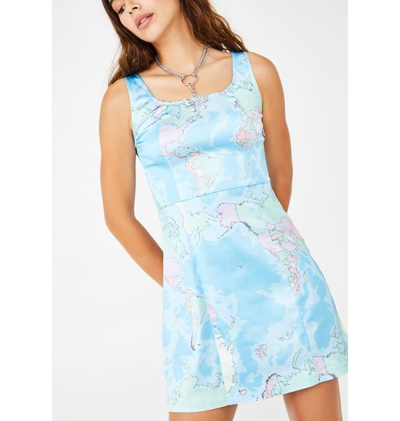 dELiA*s by Dolls Kill Jet Setter Mini Dress