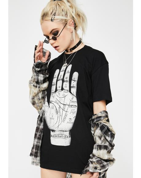 Palm Reader Graphic Tee