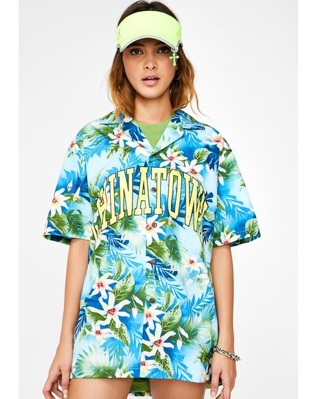 Arch Hawaii Button Down Tee