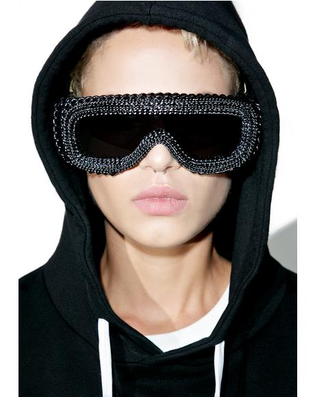 Daryl-X Chained Sunglasses