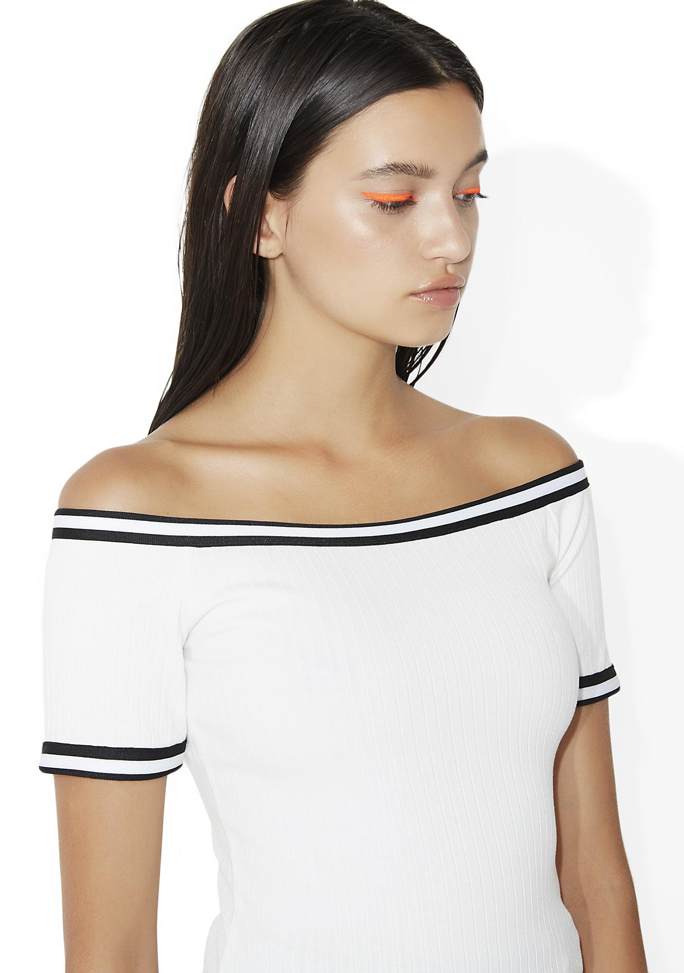 Push 'N Shove Off-Shoulder Top