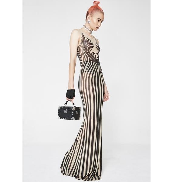 Kiki Riki Strike A Pose Embellished Gown