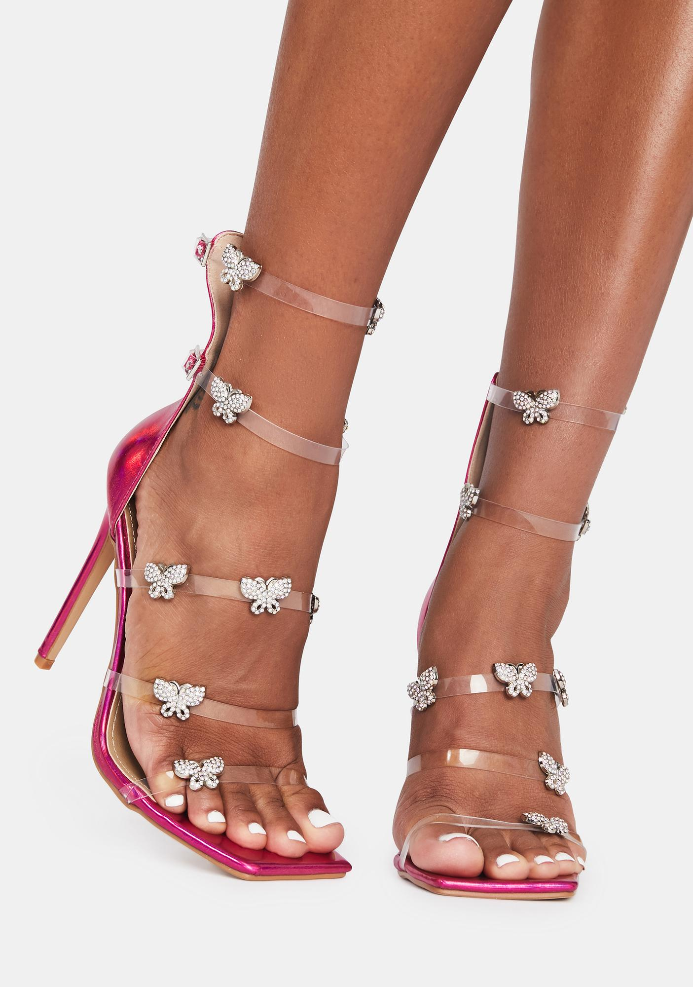 Pixie Making Magic Butterfly Heels