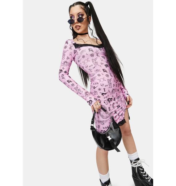 NEW GIRL ORDER Symbols Dress