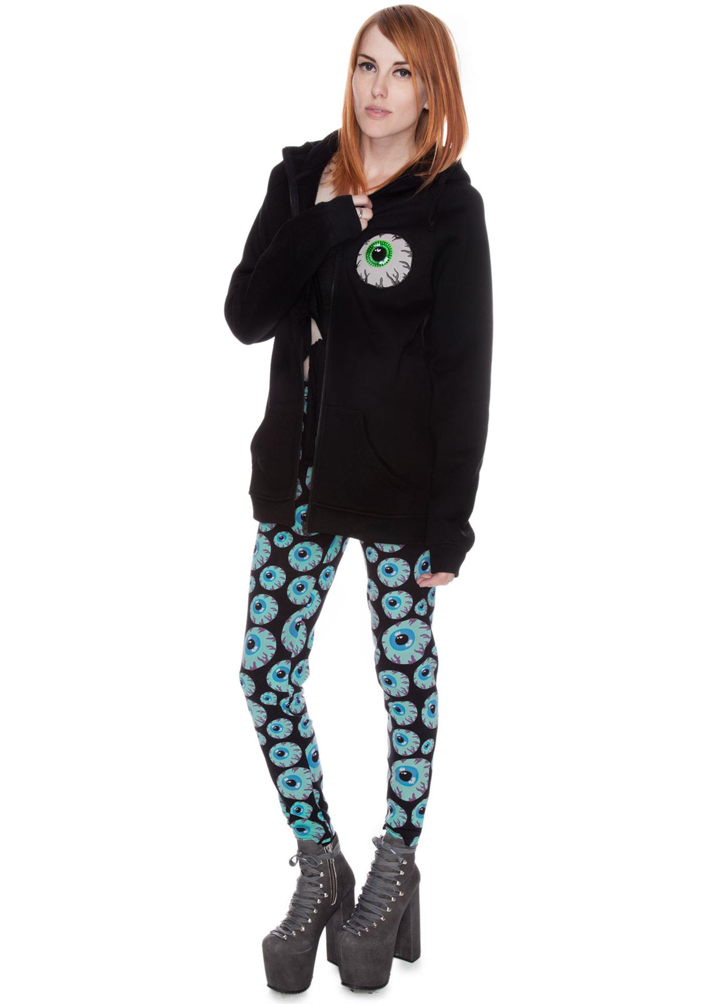 Mishka Keep Watch Zip Up Hoodie