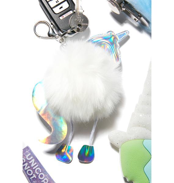 Feel Da Magic Unicorn Keychain