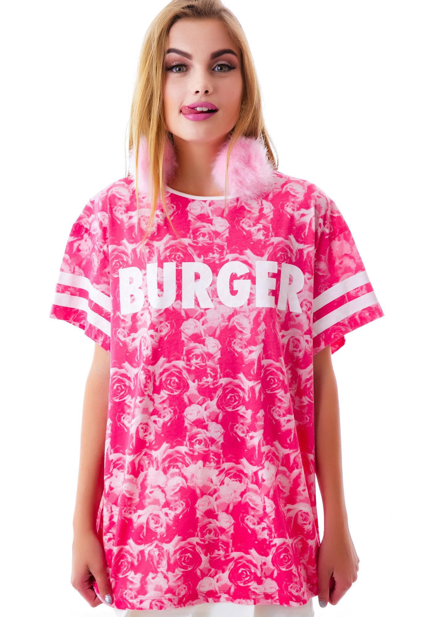 Lazy Oaf Rosie O'Burger Slob Tee