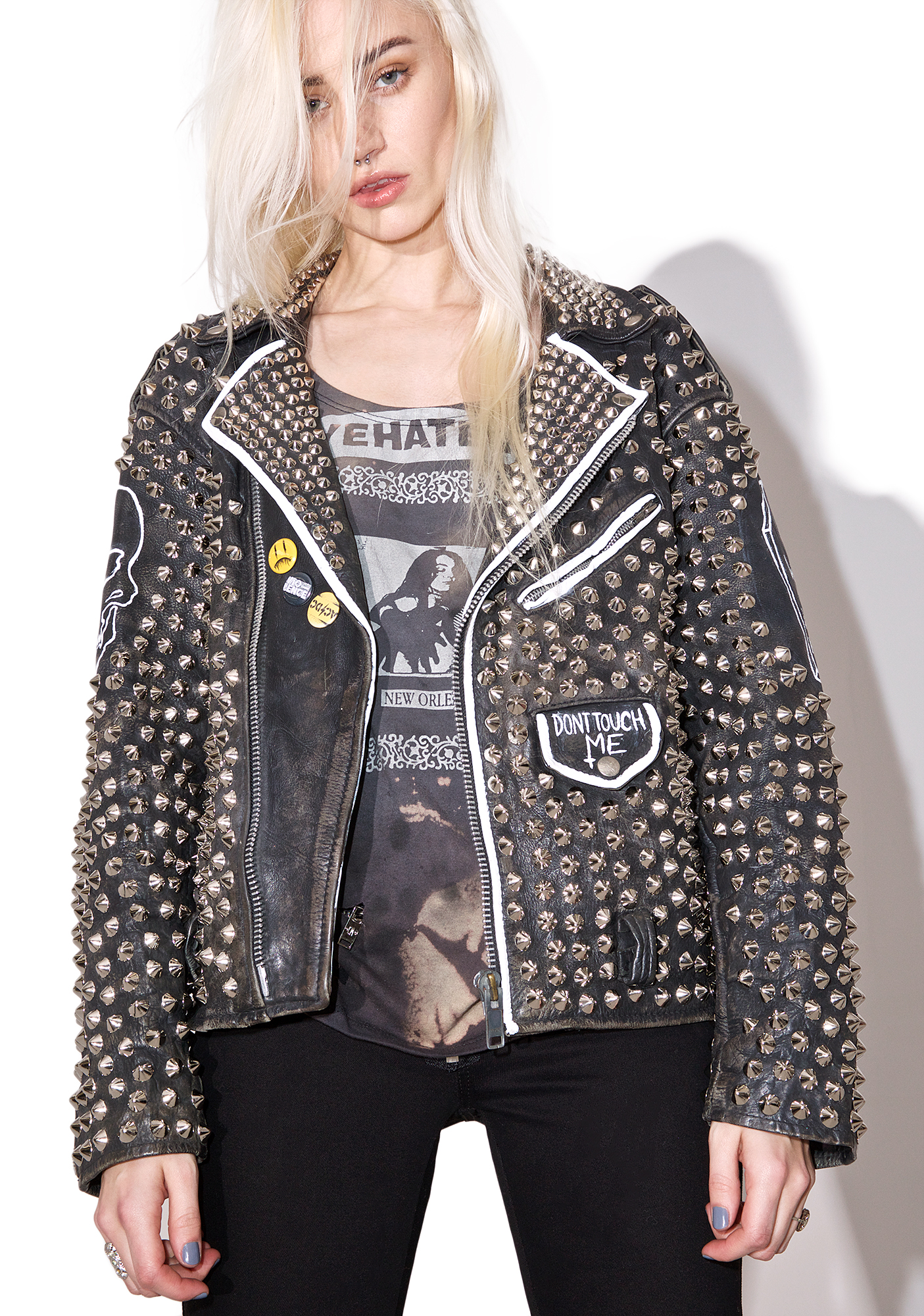 Hazmat Design Vintage Deadstock Last Rocker Leather Jacket