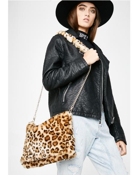 Pet The Leopard Crossbody Bag