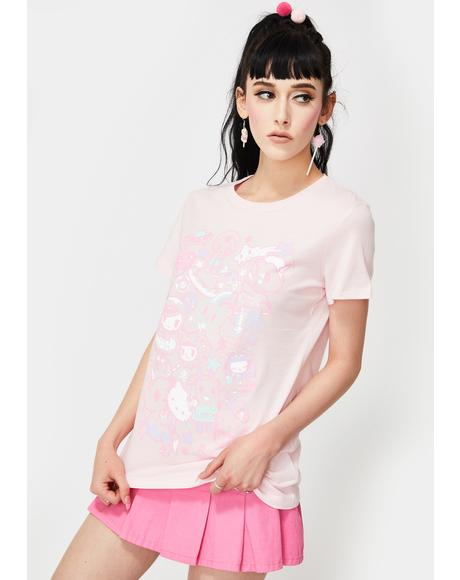 X Hello Kitty Hello Dreamy Graphic Tee